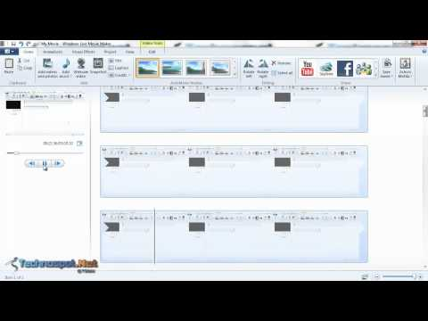 how to add free music on windows live movie maker