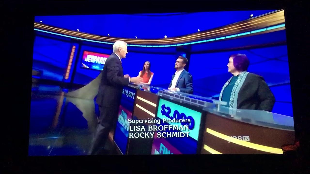 Jeopardy Endcredits Johnnygilbert