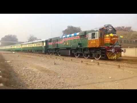 Pakistan Railways:Inaugural departure of New Train Rehman Baba Express from Peshawer