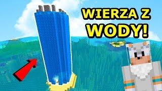 Jeż Na Ferajnie- ZBUDOWAŁEM WIEŻĘ Z WODY! | Minecraft Tritsus