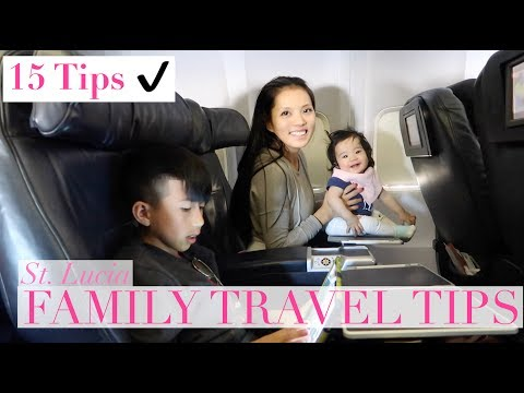ST. LUCIA! FAMILY TRAVEL TIPS | Vlog 036 Part 1of 2 by Sunina Young