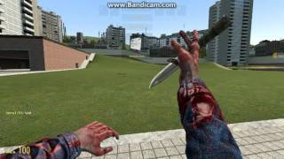 CS-GO Knife review in GMod
