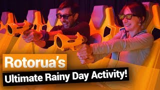 Video blog - Motion Entertainment: Bossing a Rainy Day in Rotorua - Day 287