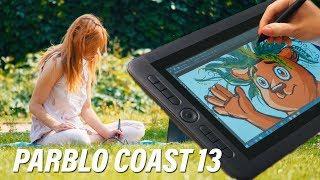 графический планшет Parblo Coast 13  ОБЗОР