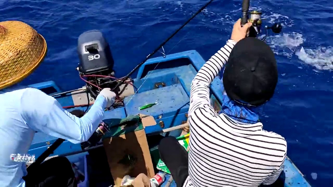 深海钓鱼:这才是真正的钓鱼老师傅,佩服吗?