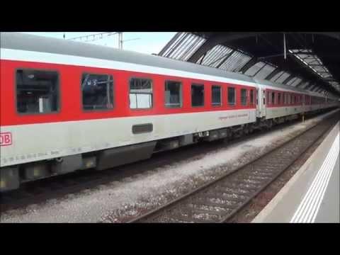 City Night Line -  Delux Bedroom in Sleeping Car : Zurich - Berlin: 2014