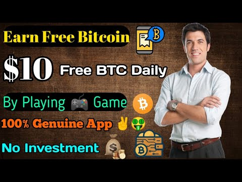 Earn $10 Bitcoin Per Day By Playing Game🔥|| 100% Genuine App No Investment 👍