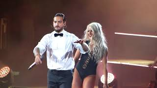 Maluma, Vente Pa' Ca (feat. Ricky Martin) - 2018 F.A.M.E. Tour (Agganis Arena - Boston, MA)