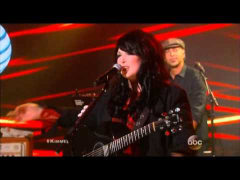 Jimmy Kimmel Live Heart Band On The Run