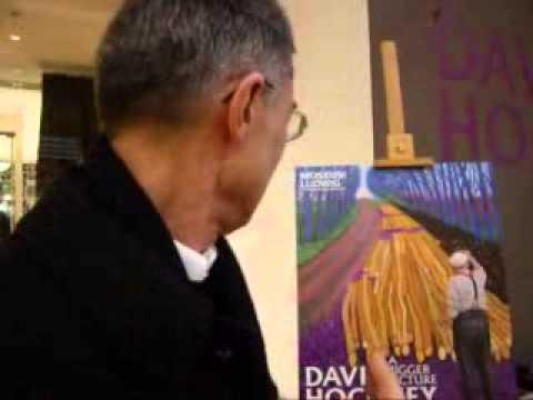 DAVID HOCKNEY master of fine arts and blow jobs in Lichtgeschwindigkeit 2506