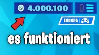 Ein Hacker gab mir 4,000,000 V-BUCKS in Fortnite..