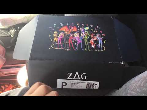Miraculous Ladybug Mystery ZAG Box - Novemeber 2019 ZAGBOX