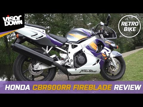 1996 Honda CBR 900 RR Fireblade Review
