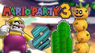 MARIO PARTY 3 Part 8: Stachlige Situationen in der Wüste!