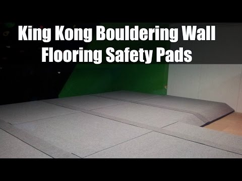 King Kong Bouldering Wall Flooring Safety Pads