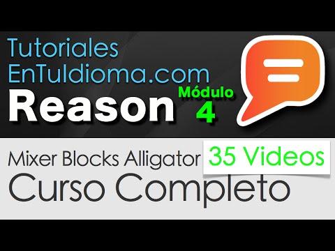 06-filtros-de-dinámica---tutorial-reason-mixer-blocks-alligator-en-español
