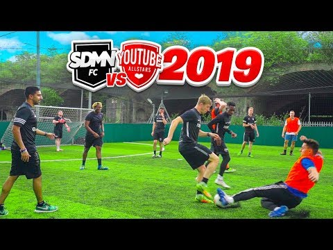 SIDEMEN FC Vs YOUTUBE ALLSTARS 2019