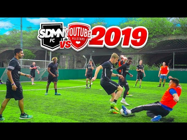 SIDEMEN FC vs YOUTUBE ALLSTARS 2019
