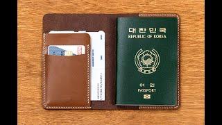 [Lifestyle Craft/담다]여권케이스