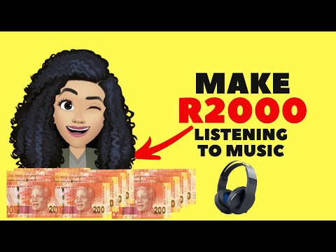 How to make MONEY ONLINE by listening to music! (BANK ACCOUNT PAYMENTS)