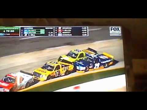 2017 NCWTS Alpha Energy Solutions 250 Reaction
