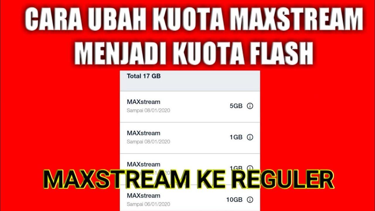 Caraa Ubah Maxxstream Menjadi Flash Youtube