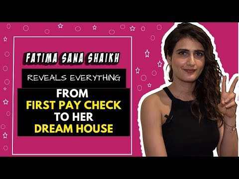 Fatima Sana Shaikh Reveals Her First Paycheck And All About Her | POP Diaries | Exclusive Interview Mp3
