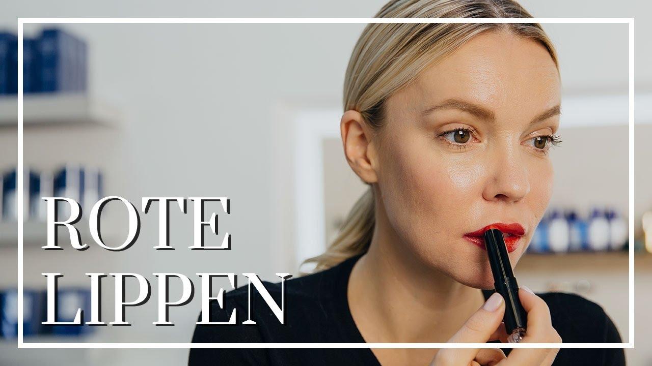 rote lippen schminken flaconi beauty tutorial youtube. Black Bedroom Furniture Sets. Home Design Ideas