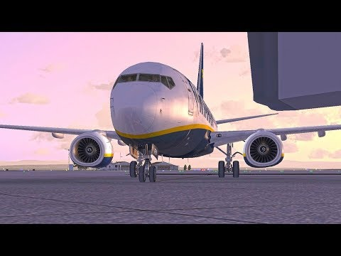 ''Brussels Online Evening''  (FSX SE) VRyanair PMDG 737| Brussels to Dublin  |  RYR61DR(Vatsim)
