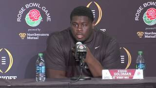 FSU dt Eddie Goldman   on Oregon's offense