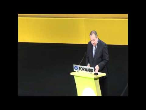 Alex Salmond - SNP Autumn Conference Speech 2011