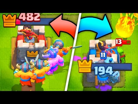 CAN WE CLUTCH 5300?! - Clash Royale