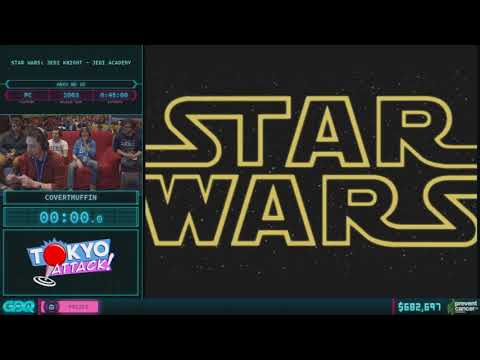 Star Wars: Jedi Knight - Jedi Academy by CovertMuffin in 44:11 AGDQ 2018