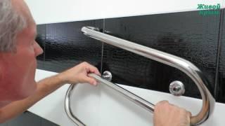Установка полотенцесушителя своими руками(Если в ванной комнате по каким-то причинам нет полотенцесушителя, то это легко исправить., 2016-10-23T19:22:17.000Z)