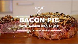 Bacon Pie with Jaeger BBQ Sauce - a 0815BBQ Recipe -#grillmeinrezept