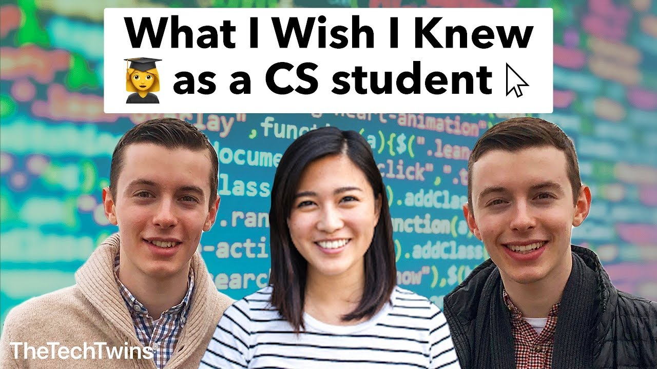 What I Wish I Knew as a Computer Science Student (feat  Mayuko) -  TheTechTwins