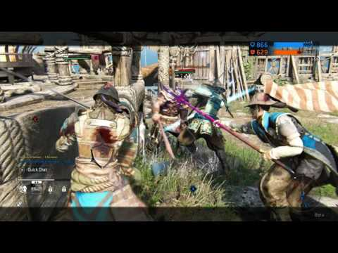 For Honor Game-play: Free Beta Code