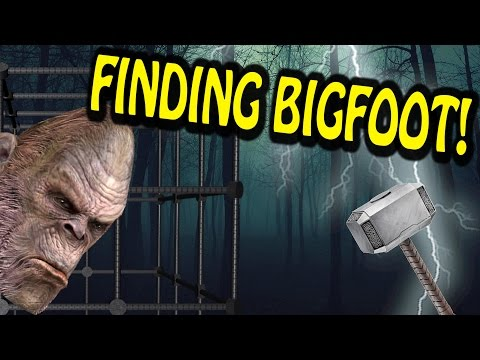 THORS HAMMER, CATCHING BIGFOOT! (Completed) - Finding Bigfoot | THE HORROR! D: W/ Friends