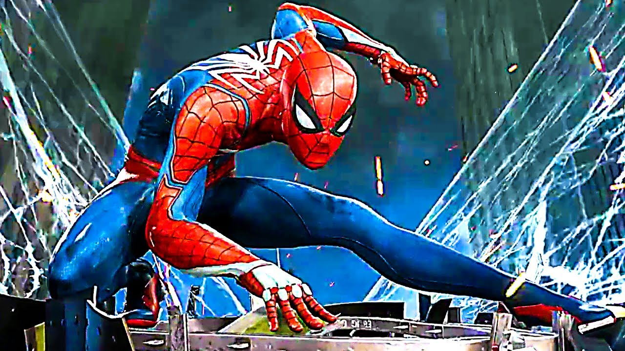 spiderman gameplay e3 2017 ps4 youtube. Black Bedroom Furniture Sets. Home Design Ideas