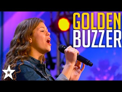 13 YEAR OLD Angelina Green Wins GOLDEN BUZZER on America's Got Talent 2017