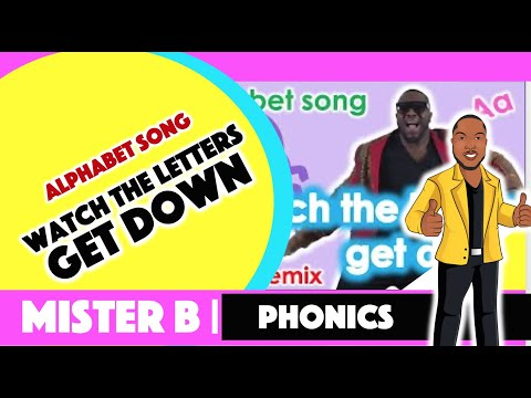 Watch the Letters Get Down-Reggae Remix (2018) MISTER B-Dr. Anthony Broughton