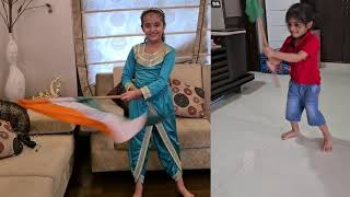 Independence day special dance 15th August । Patriotic kids dance