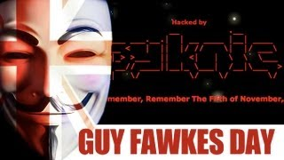 Baixar Anonymous and Pyknic Hack NBC PayPal GagaDaily Websites on Guy Fawkes Day