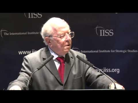 Professor Sir Michael Howard; President Emeritus, IISS