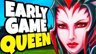 THE BEST EARLY GANKING JUNGLER - How to Snowball Your Team - Elise Jungle League of Legends