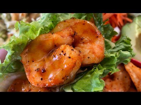 Sesame Shrimp Lettuce Wraps with Chef Greg   recteq