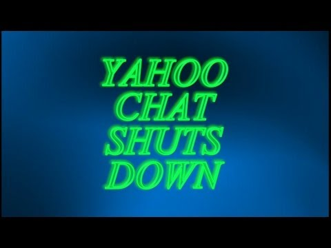 Yahoo Chat Shut Down