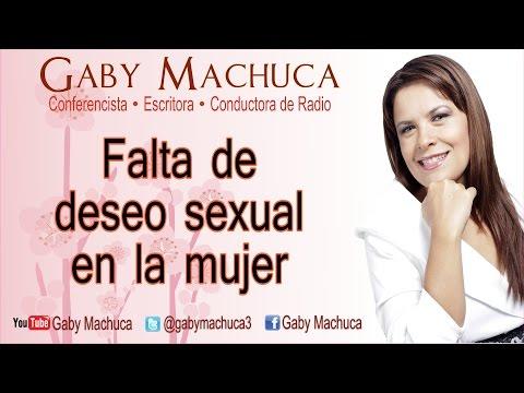 Falta de deseo sexual en la mujer con Gaby Machuca