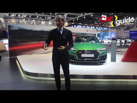 Stephan Winkelmann at the Dubai Motorshow on Audi Sport products and future direction