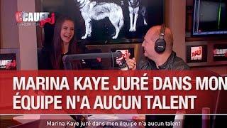 Marina Kaye juré dans Mon équipe n'a aucun talent - C'Cauet sur NRJ